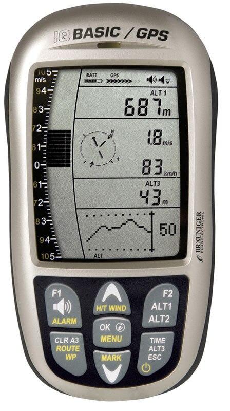 Altimètre paramoteur de parapente à aile Delta-GPS Brauniger IQ dispositif de base/GPS