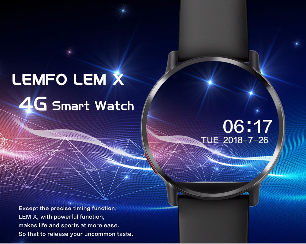 Smart Watch with Android 7.1 1
