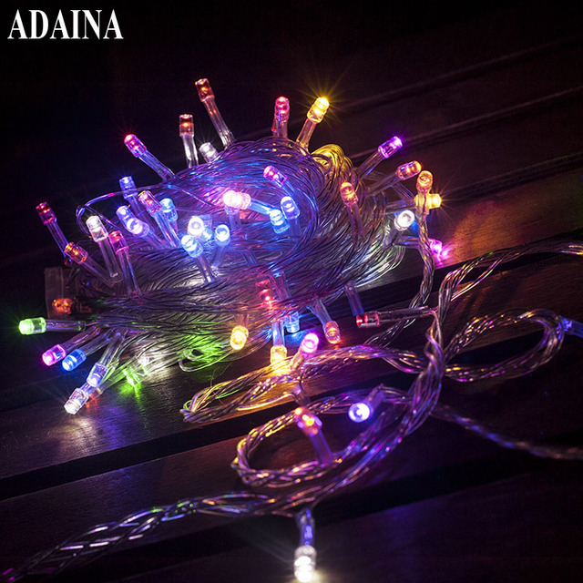 conbination garland 10m 100 bulb party christmas wedding lights outdoor xmas lights led light warm white