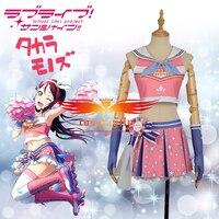 In Stock XS XL LoveLive!SunShine!! Aqours Sakurauchi Riko Cheering Squad Cheer team Cheerleaders Awakening Cosplay Costume Socks