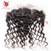 [FYNHA] Lace Frontal Closure Brazilian Virgin Hair Loose Wave 13*4 Swiss Lace 100% Human Hair Free Shipping