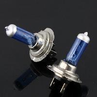 HYD  H7 12V 55W  6000K  car styling Super  White   Halogen Xenon Light Bulbs Head Light Bulbs Car-Styling  2Pcs