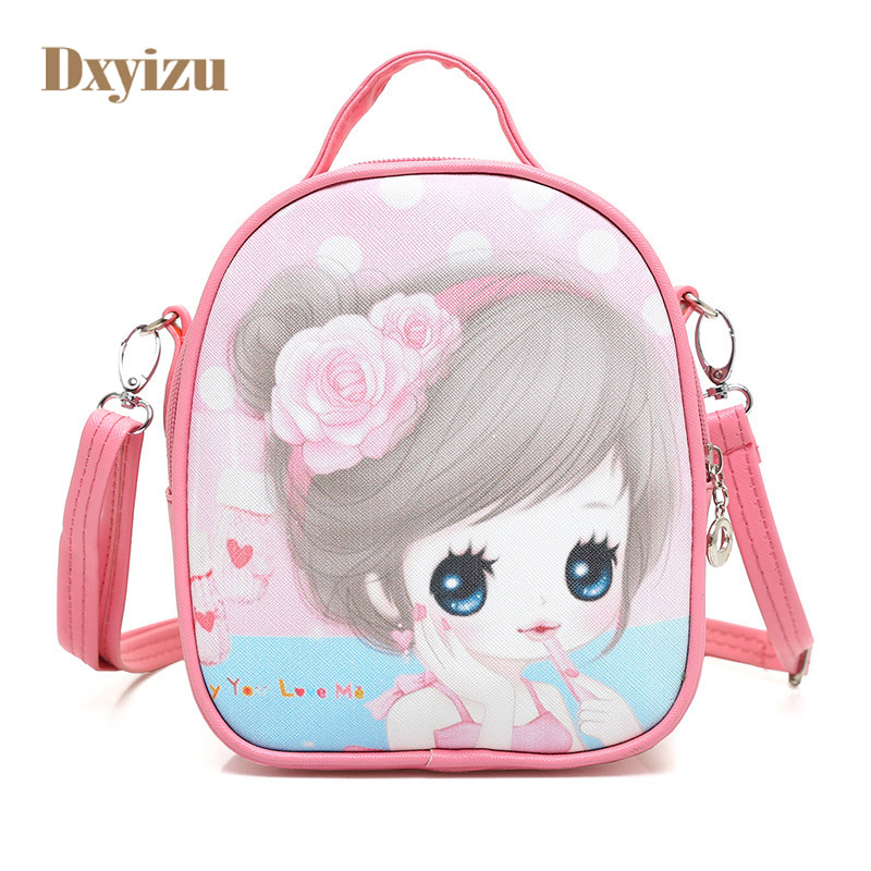 Cute Cartoon Children Handbag Mini Baby Bag Fashion Kids Shoulder Princess Bag Character Girl Back packs Good Gifts for Daughter