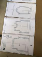 40 fogli Diversi Da Cucire Modello Maglione Carte per silver reed di Lavoro A Maglia macchina di Inseguimento della macchina