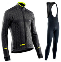NW 2019 Pro team Cycling Jersey Clothes Spring Northwave riding men's long sleeve suit Breathable outdoor bike MTB clothing set