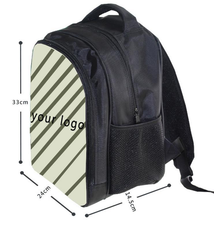 Купить с кэшбэком 13 Inch Anime Sonic Mario Backpack Students School Bags Boys Girls Daily Backpacks Children Bag Kids Best Gift Backpack