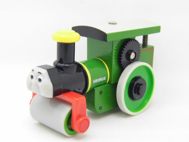 Wooden Thomas Train T061W GEORGE Thomas And Friends Trackmaster Magnetic Tomas Truck Car Locomotive Engine Railway Toys for Boys