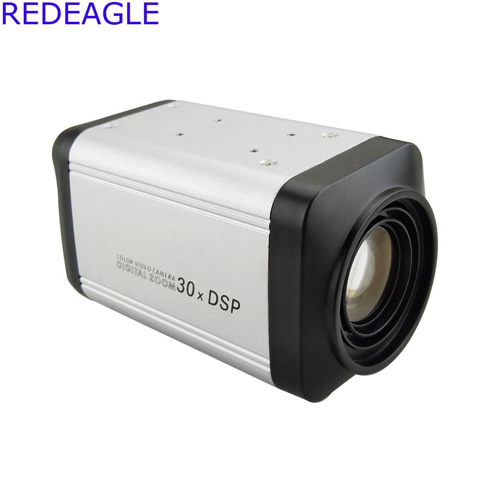 REDEAGLE 960P HD AHD Color Vari Focal BOX Security Camera 30X Optical Zoom 1200TVL DSP CamerasREDEAGLE 960P HD AHD Color Vari Focal BOX Security Camera 30X Optical Zoom 1200TVL DSP Cameras