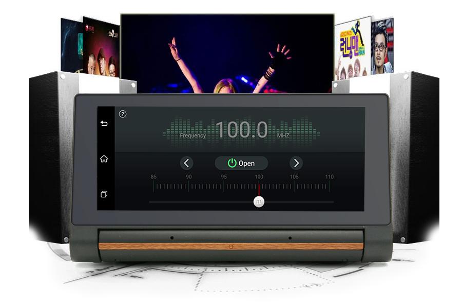 "Junsun 3G Car DVR GPS Camera 6.86""Android dash cam Full HD 1080p Video recorder Wifi Bluetooth registrator Dual lens dvrs Camera 26"