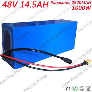 US EU No Tax Battery 48V 15AH 1000w For Panasonic Cell Lithium Battery 48V With 2A Charger Built in 30A BMS eBike Battery(China)