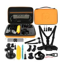 New 20 in 1 Portable Travel Combo Kits Storage Case Camera Accessories for GoPro