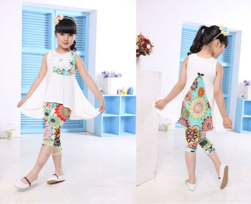 baby girls clothing sets kid clothes wqw99C08  (7)