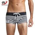 Wj sunga hombres masculina troncos del traje de baño traje de baño bikini masculino homme mens underwear boxers underwear slip transparentes spandex traje de baño