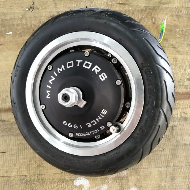 Dualtron 3 Motor with tire and disc Dualtron 3 wheel