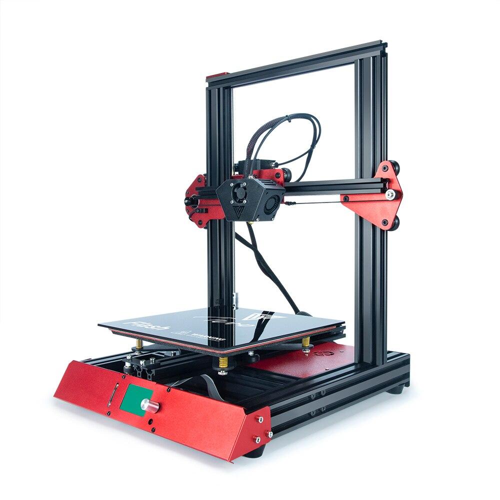 Extrudeuse électronique de Titan de carte de SD d'extrusion en Aluminium de Machine d'imprimante du Flash 3D de TEVO avec la haute précision de lit de chaleur avec le contact de BL
