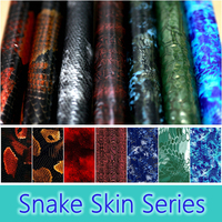 Free Shipping Snake Skin Water Transfer Pringting Films Aqua Print Films For Motorcycle Car Decoration 50CM