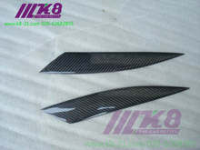 Carbon Fiber Headlight Covers Eyelids eyebrows Fit for Mazda RX8