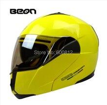 Beon козырек подвергая двойной линзы мотокросс undrape мотоциклетный шлем зима открытым лицом гонки шлемы побежал редуктор B-700