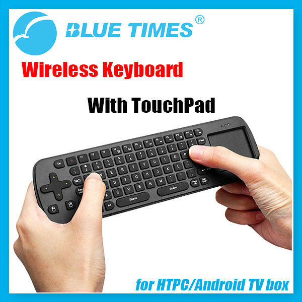 Measy RC12 2.4GHz Wireless Keyboard Remote with Touchpad For Android TV Box MK808 HTPC Free Shipping