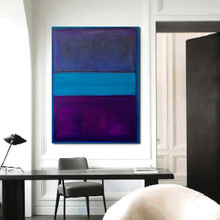 Mark Rothko Home Decor Oil Painting Wall Pictures For Living Room Paintings On Canvas No Frame