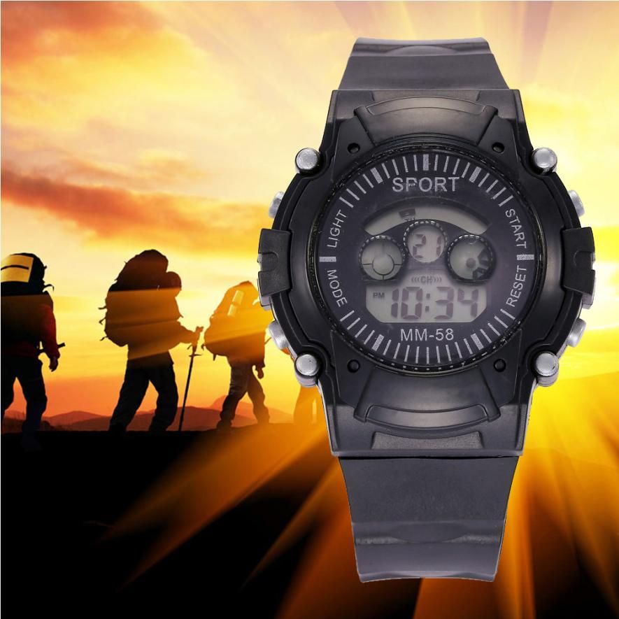 Watches Digital Watches Honesty Mens Multifunctional Practical Date Display Led Digital Sport Quartz Analog Military Wrist Watch Smart Watch