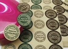 25mm SPECIAL SELECTED diameter 25mm Self-adhesive sealing kraft paper sticker,1000 pcs/lot, Item No. TK06