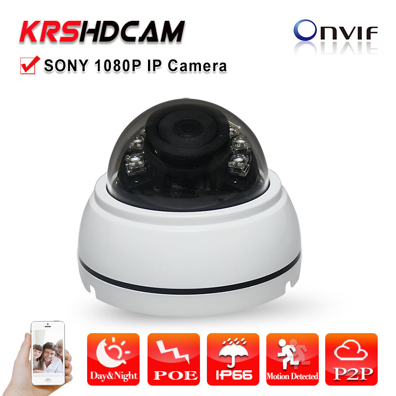 Full HD 2MP IP Camera POE ONVIF 1080P H.264 24IR HD Lens Securiy room Dome Support Phone Android IOS P2P camera seguranca камера наблюдения 1080p full hd h 264 p2p poe ip 2 elp ip1892 poe elp ip1892 poe