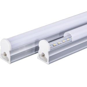 Image 1 - LAIMAIK 10 ADET Led T5 floresan lamba 300 ~ 1200mm T5 Tüpler SMD2835 Parlaklık LED T5 lamba tüpü AC86 265V T5 Led tüpler oda Aydınlatması için