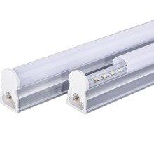 LAIMAIK 10PCS Led T5 צינור אור 300 ~ 1200mm T5 צינורות SMD2835 בהירות LED T5 מנורת צינור AC86 265V t5 LED צינורות עבור חדר תאורה