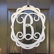 Подарок на день матери, декор передней двери, знак на дверь с монограммой, металлические буквы, initalmonogram дверной венок, дверная вешалка, дверной венок