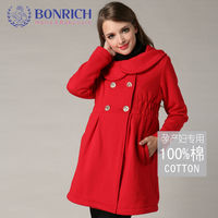 2017 Double Breasted Wool Coat High Quality Winter Jacket Women Slim Woolen Long Cashmere Coats Cardigan