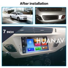 Android 9,0 reproductor de DVD del coche GPS Glonass de navegación para Citroen C3 DS3 2010-2016 Auto Radio Audio Video ESTÉREO reproductor Multimedia(China)