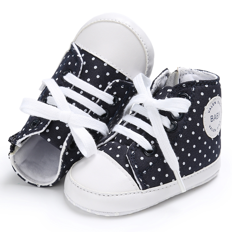 Baby toddler First Walkers shoes newborn Girl Boy sneakers Fashion leisure soft bottom canvas shoes 0-18 Months
