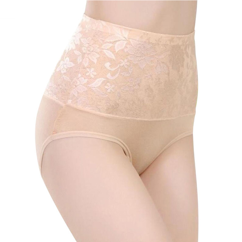 ZW90 Women Modal   Panty   High Waist Breathable   Panties   Plus Size Female Underwear Body Shaping Briefs M-XXXL