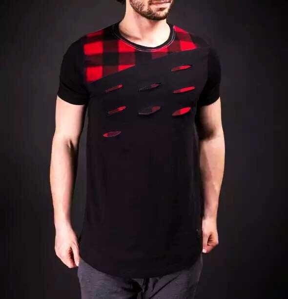 Style Shirt 2017 West T Surdimensionné De blanc Vêtements Homme Noir Hop T shirt Saison Milan Streetwear Hip Hommes T Kanye New shirts rPIq8r6F