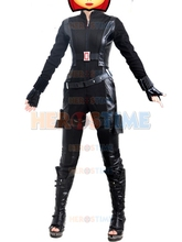 (SUP009)Captain America 2 Black Widow Movie Cosplay Zentai Superhero Suit Halloween Party Costume