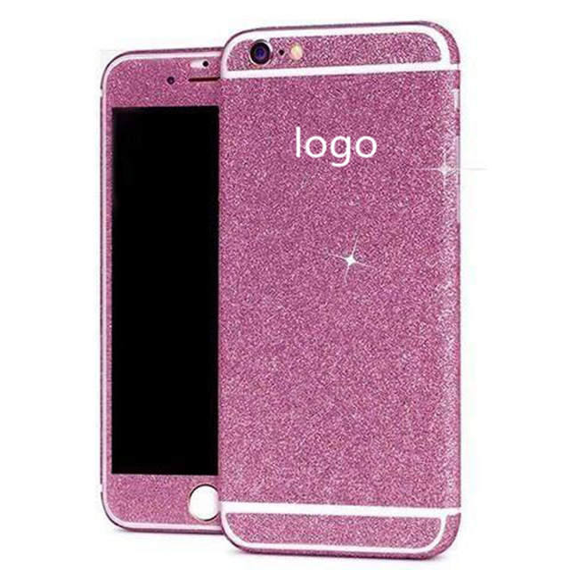 ZRICKIE For iPhone XS MAX Glitter Full Body Decals Sticker Cover for iPhone  X XS 8 2d4d6a17a266
