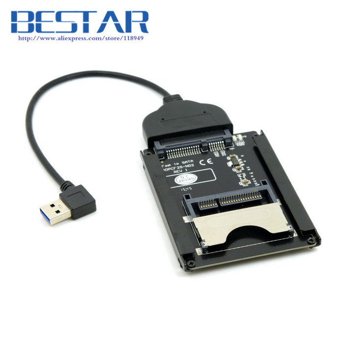 SATA 22Pin to USB 3.0 USB3.0 to CFast Card adapter 2.5 inch Hard Disk Case SSD HDD CFast Card Reader for PC Laptop