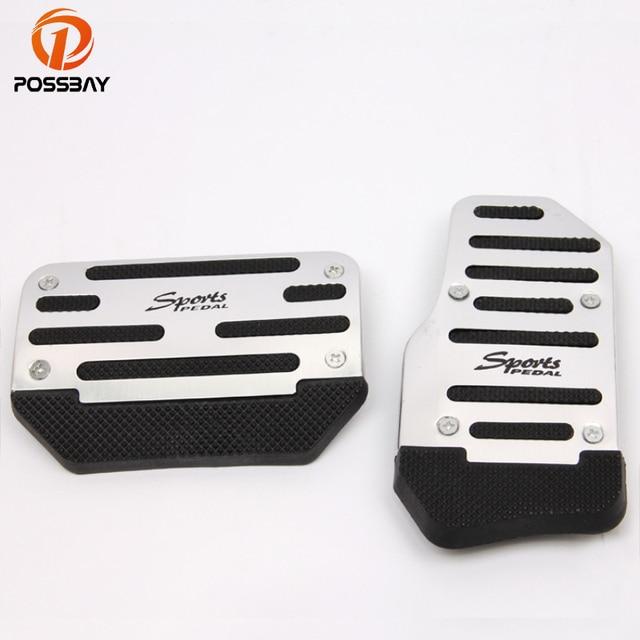 Aliexpress.com : Buy POSSBAY 2 Pcs Silver Aluminum Non Slip ...