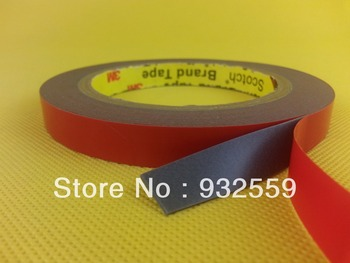 12mmX5M 3M Automotive Acrylic Foam Tape GT6008 grey 0.8mm thick  free shipping