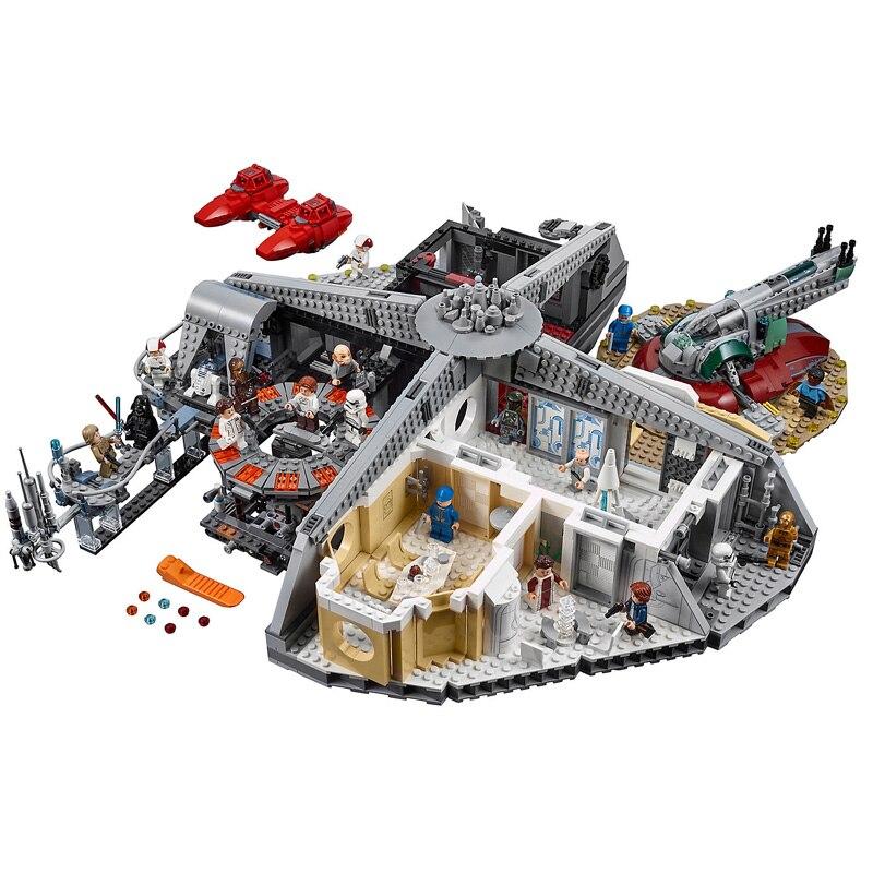 DHL Star Wars Trahison à Nuage Ville Modèle ensemble Compatible Legoings 75222 05151 Blocs Briques Enfants Jouets Cadeaux De Noël