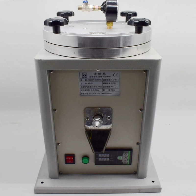 Petite machine d'injection de cire d'injecteur de cire Machine d'injection de cire de bijoux machine de moulage de moule de bijoux pour l'outil de bijoux de bijoutiers