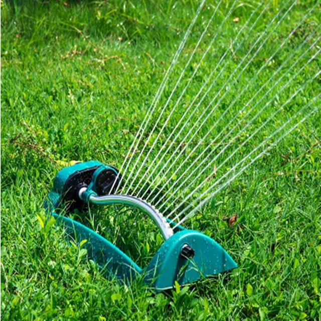 Arroseur en balançoire, tuyau darrosage réglable pour lirrigation de la pelouse du jardin et des extrémités