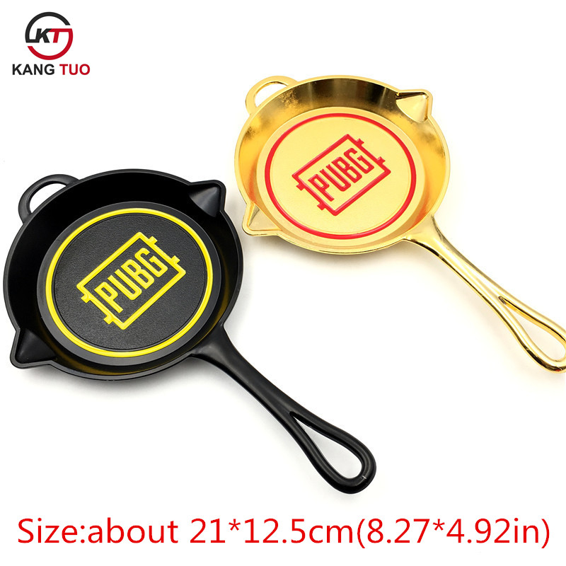 Us 6 89 10 Off Game Pubg Pans Model Keychain New Design Pubg Logo Key Holder For Fan S Exhibition Collection Gift Big Size 21 12 5cm 3 Color In Key