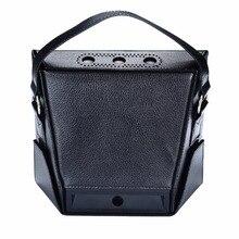 MASiKEN PU кожаный чехол для хранения сумка для Amazon Echo Show Чехлы для переноски Защитная переносная крышка сумка
