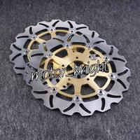 Braking Motorcycle Rotors for Suzuki DL V STROM 650 1000 SV S KAWASAKI KLV 2004 2005 2006 2007
