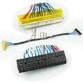 "250mm Cable LVDS FIX-30P-D8 D8 Doble de $ number canales de $ number bits 1.0mm Pitch FIX 30 Pines para 17 ""-21"" Panel de la Pantalla LCD Controller Board"