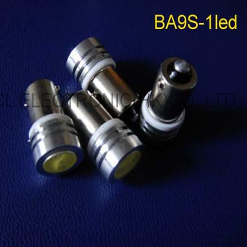 High quality 12V 1W BA9s led BA9s Car led Signal Light,BA9s Indicator Light,Pilot Lamp led BA9s lamps free shipping 100pcs/lot
