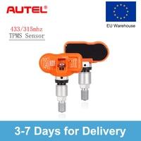 Autel TPMS Sensor 433Mhz 315Mhz Replacement Tire Pressure Monitoring tpms sensors for AUDI A8 4E for OPEL Mokka 433 MHZ TPMS