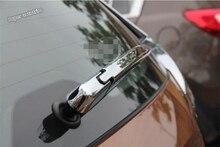 цена на Lapetus Chrome Rear Windshield Window Windscreen Rain Wiper Cover Trim For Nissan Rogue / X-trail X Trail T32 2014 2015 2016 ABS